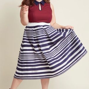 NWT- Soirée fit and flare elation skirt in 2x